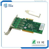 Quality F904E 1Gb Gigabit 4-port  PCIe Open SFP Intel I350 Network Adapter Card for Servers and Switches for sale