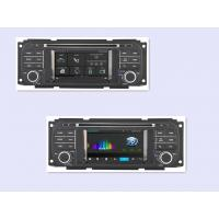 Quality Mirror Link 1080P Video Play Jeep DVD Player , Jeep Wrangler GPS Radio In Dash 2003 - 2006 for sale