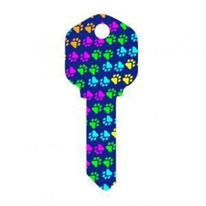 Buy Decorative Custom House Key Blanks / Printed Key Blanks Kwikset Kw1 Schlage Sc1 at wholesale prices