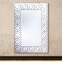 Quality Anti Scratch Modern Rectangular Wall Mirror For Home/ Hotel Decoration for sale