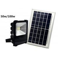 Quality IP 65 High Power LED Floodlight , Remote Control Residensial Solar Powered Garden Lights for sale