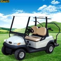 Quality 4 Wheel Used Electric Golf Carts 48V With ADC Motor, Trojan Battery,Italy Axle for sale