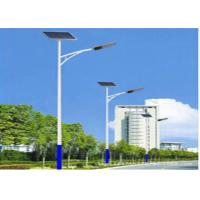 Quality 10M 115W Integrated Solar Led Street Light With 24V 50Ah Battery , High Bright for sale