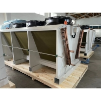 Quality Vertical Evaporator V Type Air Cooled Dry Cooler  For Cold Storage for sale