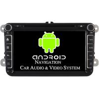 Quality 1024 X 600 Pixel Volkswagen DVD GPS Navigation VW Golf Car Stereo 2003 - 2012 for sale