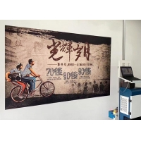 Quality 18m2/h Vertical Wall Printer 400ml Ink 720X1440DPI for sale