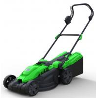 China Popular Robust Electric Push Mower , Electric Grass Cutter 36cm 1500w Handle Angle Adjustable on sale