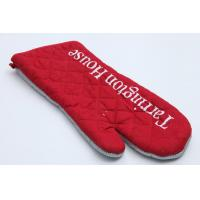 Quality High Durability Heat Resistant Oven Mitts Water Proof Heat Transfer Printing for sale