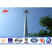 Best Round Conical Mono Pole Tower Communication Distribution Monopole Cell Tower wholesale