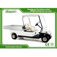 Quality Trojan Battery Powered Electric Utility Carts 2 Seater Golf Cart Utility for sale