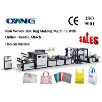 Buy cheap Carry Bag Manufacturing Machine / Non Woven Bag Making Machine Approved CE from wholesalers