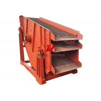 Quality Sing Deck Stone Circular Vibrating Screen Sifting For Coal Ore for sale