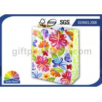 China Reusable and Recycled Printed Wedding Paper Bag / Decorative Paper Gift Bags with Art Paper on sale