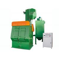 China Green Crawler Industrial Shot Blasting Equipment For Non - Ferrous Metal Castings on sale