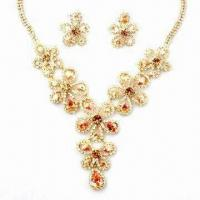 Buy cheap Wedding Jewelry Set, Made of Alloy from wholesalers