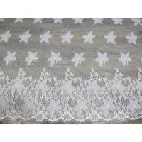 Best Cotton Eyelash Trim Embroidery Lace Fabric For Curtain And Clothing wholesale