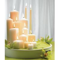 China Rose shaped candles for valentine day on sale