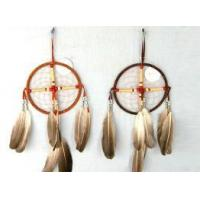 Quality Dream Catcher, Made of Feather and Metal Ring, Suitable for Promotional Gifts for sale