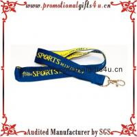 Woven Lanyard with Metal Hook