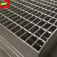 Quality Light Riveted Steel Driveway Grates Grating Corrosion Resistance For Sewage for sale