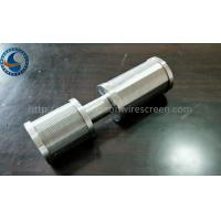 Buy cheap SS Johnson Wedge Wire Screen Nozzle Customize For Client 0.05-1mm Slot Size from wholesalers