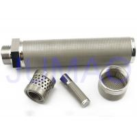 Quality 316 L Sintered Stainless Steel Filter Elements High Mechanical Strength for sale