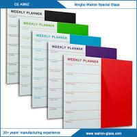 Best New Fashoin Stylish Glass Weekly Planner wholesale