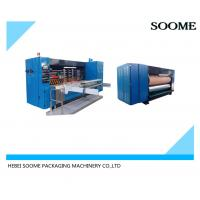 China High Speed Die Cutting Creasing Machine , Electric Automatic Die Cutter on sale