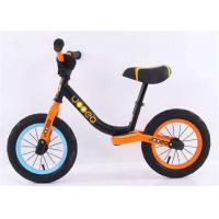 "Quality 12"" 14"" No Pedal High Carbon Steel Children Balance Bike Balance Bicycle For Kids Finish Matte With Lock-out Seat Clamp for sale"