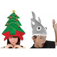 Quality Personalized Christmas Tree Plush Hats for sale