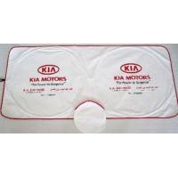 China car shade,Tyvek sunshade with two circles front on sale