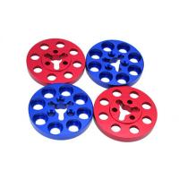 China Precision Anodized CNC Machining For Colored Aluminum Round Parts on sale