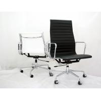 China Heat Embossed Ribbing Ergonomic Conference Room Chairs With Removable Armrests on sale
