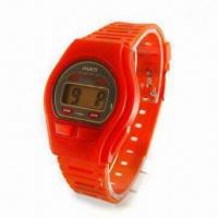 Quality Basic LCD Watch, Suitable for Promotional Item for sale