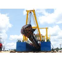 12 Inches Cutter Suction Dredger For Sand Dredging In RiverPortLand Reclamation