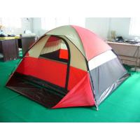 Quality monodome camping tent family tent for 3-4 person for sale