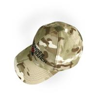Quality Mens Outdoor Hiking Hat , Military Tactical Camo Baseball Cap With Printed Pattern for sale