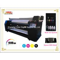 Best Large Format Polyester / Cotton / Silk Textile Printing Machine Pigment Ink wholesale
