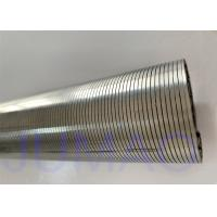 Quality Corrosion Resistant Wedge Wire Screen Filter , Wedge Wire Filter Elements for sale