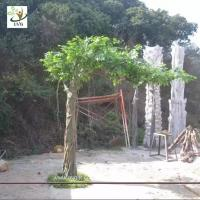 Best UVG GRE051 best selling products factory direct green banyan artificial tree for weddings wholesale