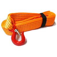Quality Vehicle Tow Strap With Eye Hooks for sale