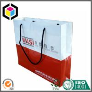 China CMYK Full Color Printing Paper Gift Bag; Cotton Handle Paper Bag; Color Bag on sale