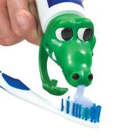 China PVC Spread Heads Toothpaste Caps Toy Cat Head With Cartoon Patterns on sale