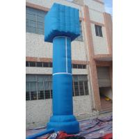 Best Red / Blue Outdoor Celebration PVC Inflatable Advertising Column for Event wholesale