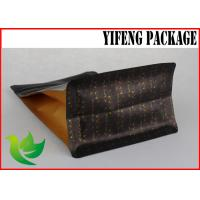 Best Customized Flat Bottom Pouch Oil Proof For Coffee Bean Packing / Food Grade wholesale