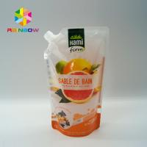 Best BPA Free Plastic Packaging Bag Ziplock Reusable Drink / Water Food Containers wholesale