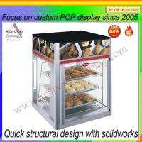 Quality Custom POP food display stand for supermarket for sale