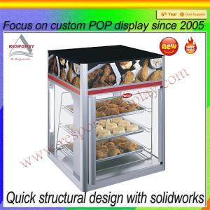 Best Custom POP food display stand for supermarket wholesale