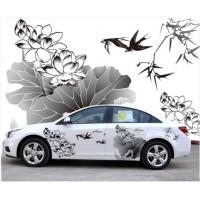 China Printed Auto Car Stickers on sale