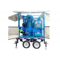Quality Double Axle Mobile Typed Double Stage Vacuum Transformer Oil Purifier ZYD-M-100 (6000LPH) for sale